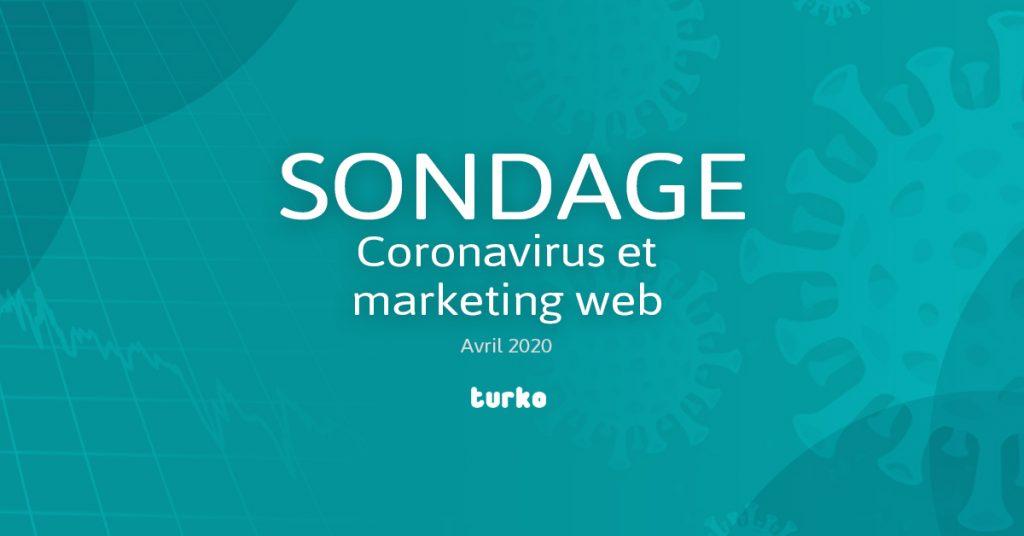 Corona virus sondage