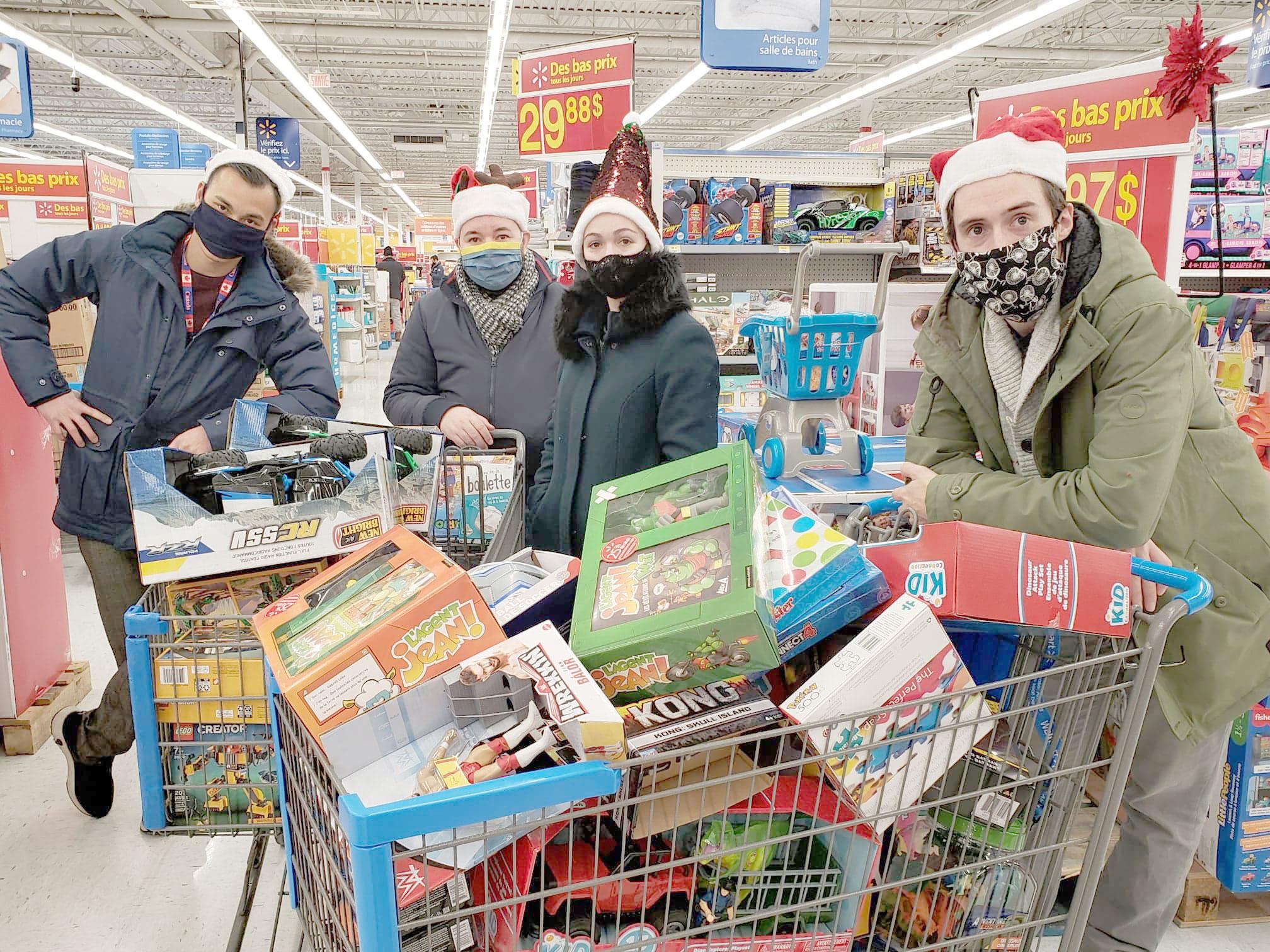 Charity team activities
